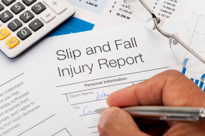 workplace health and safety slips and falls